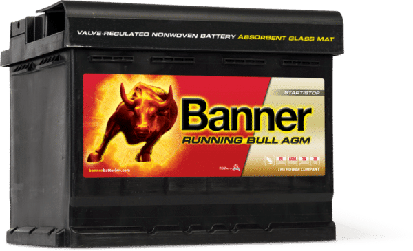 Banner startbatteri