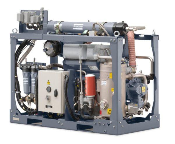 Railway kompressor