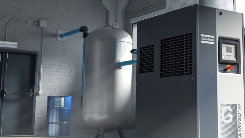 Atlas Copco kjøletørke